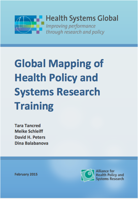 Global mapping report