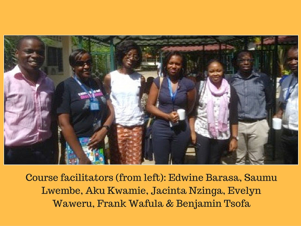 Kilifi course facilitators