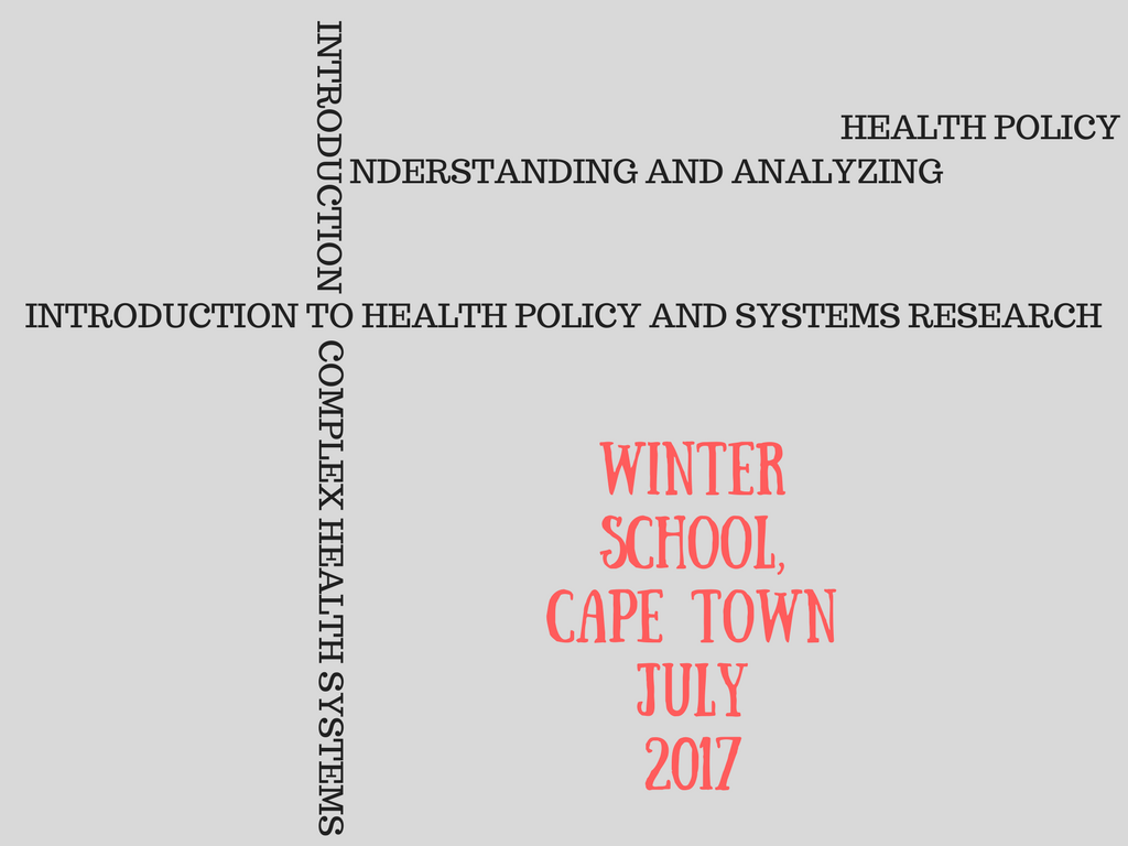 winter school 2017